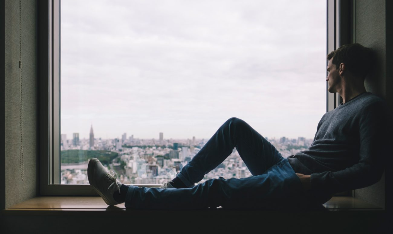 man in window, wisdom for men, nice guy syndrome, mens depression, mens counseling, denver counselor for men